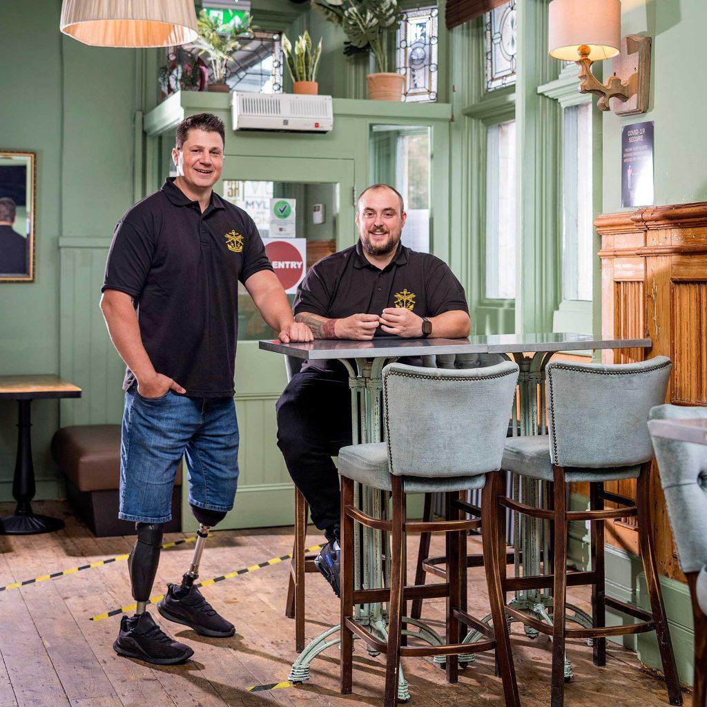 Veterans Brewing team